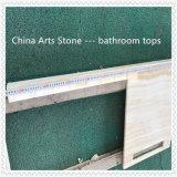 De houten Marmeren Bovenkanten van de Ijdelheid Onxy voor Badkamers