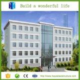 Projeto pré-fabricado do edifício da construção de aço