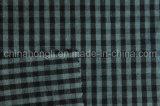 O fio tingiu o algodão/tela poli/rayon, tela do batente do rasgo, 230GSM