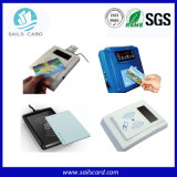 Scheda senza contatto a due frequenze di identificazione per controllo di accesso
