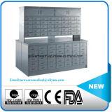 ステンレス鋼の倍の表面常備薬戸棚