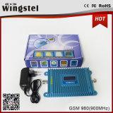 2016 repetidor de la señal del teléfono celular de 2g 3G 4G GSM980 900MHz con la antena