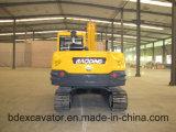 Nuevo pequeño excavador amarillo de alta velocidad de la correa eslabonada con el motor de Yuchai