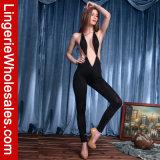 Costume Clubwear комбинезона сексуального погружения V-Шеи женщин глубокого кокетливого Backless