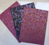 Dekoratives lamelliertes Papier, fantastischer Entwurf mit metallischem gedruckt, für Möbel, MDF