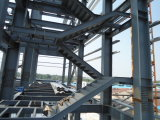 Gruppo di lavoro chiaro della struttura d'acciaio del magazzino della struttura d'acciaio (BYSS012204)