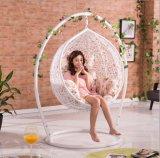 Disegno creativo del giardino della mobilia del metallo bianco del blocco per grafici della ganascia esterna dell'oscillazione