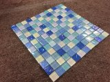 中国のSupplier Green Tile Glass Mosaic、SaleのためのFashion Swimming Pool Tile