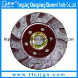 Спеченный абразивный диск чашки диаманта для полировать