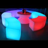 LED Ligthing 가구, LED 테이블 및 발판은 의 많은 것 디자인한다