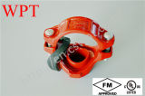 UL Mechanical Tee Joint de FM para Plastic Coated Fire Pipe