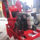 Kleine mobile Dieselmotor-Kiefer-Brecheranlage
