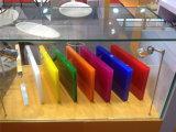 中国の高品質の明確で、多彩な鋳造物のアクリルシート