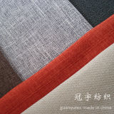 Knitted Oxford Linen Fabric for Sofa Cover Upholstery