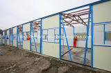 Панельный дом с светлой стальной рамкой (новая модель)