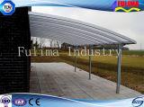 Сень/тент/автопарк стальной рамки ISO 9001 светлая (SSW-C-003)