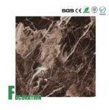 Panneaux de murs rigides de douche de texture de marbre de panneau de PVC de matériaux de construction