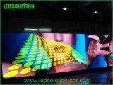 P4 visualización video de interior de la alta resolución LED para hacer publicidad