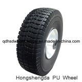 10インチの手押し車のための平らで自由な泡PUの車輪3.50-4