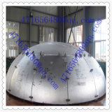 Hot Pressing Steel Half Ball Dished End for Pressure Vessel