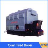Caldeira de vapor de carvão da grelha da corrente do floco