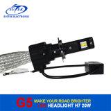 8-32V DC 20W 2600lm H7 6500k LED 자동차 Headlamp