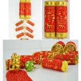 Decorazione di plastica dei pendenti di festival di nuovo anno del Ornamentation del petardo