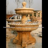 Fontana di pietra di marmo esterna per il regalo Mf-372