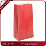 Sac de papier favori pour les fêtes avec la couleur Défferent, Print Print Logo, 1 emballage Doz, sac en papier Kraft
