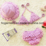 Girl's Lace Bikini, , Lace Lovely Swimming Suit for Kids
