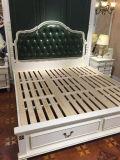 新しい到着のCiffアメリカ様式の革ベッド、韓国の革ベッド(L097)