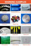 Máquina de fibra óptica de la marca del laser del color para los instrumentos/cobre/plástico de PVC/Surgical