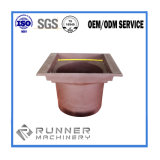ISO9001: 2008 het Aangepaste Deel van het Staal van het Plateren door CNC die voor Machines machinaal bewerken