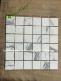Italienische Statuario Calacatta weiße Marmorgroßhandelsfliese