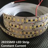 De qualité éclairage de bande de l'éclat SMD2835 DC12V DEL ultra