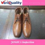 De betrouwbare Dienst van de Inspectie van de Kwaliteitsbeheersing voor de Schoenen van het Leer Joshua in Wenling, Zhejiang