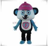 Traje bonito da mascote da panda da boa qualidade para a venda