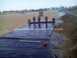 HDPE Geomembrane del trazador de líneas de Geomembrane/del trazador de líneas de la charca de la granja de pescados