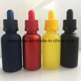 botellas de cristal del petróleo esencial 5ml-100ml con diverso color