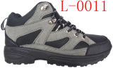 Горячее Sale Hiking Boots с PVC Injection Outsole (L-0011)