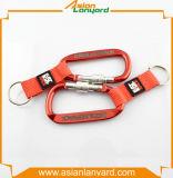 Sagola variopinta personalizzata Keychain con la cinghia