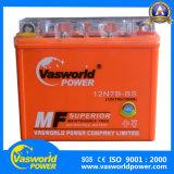 batterie de la moto 12V7ah pour le type de gel du pouvoir de Vasworld
