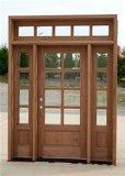 Porte en bois solide de placage différent pour l'usage de pièce