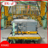 Ligne de machine de moulage de fonderie de procédé de vide de machines de pétrole