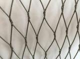 Черная сетка веревочки нержавеющей стали заполированности окиси (Ferrule)