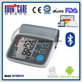 Moniteur électronique sans fil de pression sanguine de bras (point d'ébullition 80EH-BT) avec le grand affichage à cristaux liquides