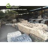 Piedra y esquina flojas empiladas negro directo de la fuente de la fábrica