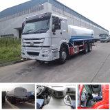 판매를 위한 Sinotruk HOWO 8X4 연료 탱크 수송 트럭 연료 납품 트럭!