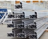 Profiel van het Aluminium van de Bouw van het Aluminium van de voorzijde het Materiële