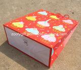 Sacs personnalisés de cadeau de papier d'imprimerie d'anniversaire de scintillement de modèle